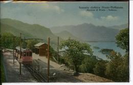 Etg Italie Binda Ferrovia Elettrica Stresa-Mottarone Stazione Di Binda - Vedasca Animée 1910 EVT - Italia