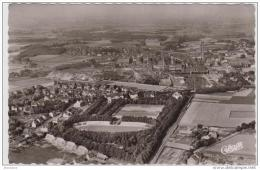 AK - Oer-Erkenschwick I. W. - Stimberg Stadion Und Zeche Ewald-Fortsetzung - Fliegeraufnahme 1955 - Muenster