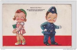 AK - Belgien COMIQUE 1933 - Comicfiguren
