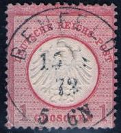 Benfeld 13/5 72 Auf 1 Groschen Rot - DR Nr. 4 - Kabinett - Allemagne