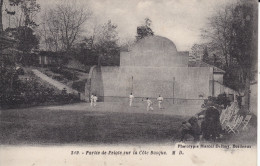 Sport : Partie De Pelote  Sur La Cote Basque . - Cartoline