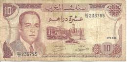 Banque Du MAROC  --  Dix Dirhams - Maroc