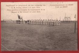 TAD1-01  Kamp Zeist Sportfeesten Ter Gelegenheid Van Den Verjaardag Van Z.M. Koning Albert I 8 April 1916. En 1917 - Zeist