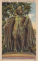 Massachusetts Springfield Saint Gaudens The puritan Merrick Park