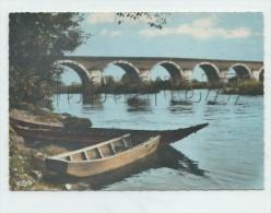 Moissac (82) : Le Pont Napoléon  En 1968  GF. - Moissac