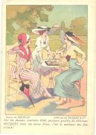10 Cartes Anno 1900 PUB RICQLES Chromos Superbe Litho - Ill. PREJELAN - Impr ENGELMAN - ART Nouveau Mode - Sammlungen