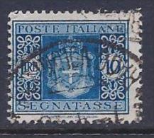 Italy, Scott # J63 Used Postage Due, 1945 - 5. 1944-46 Lieutenance & Umberto II