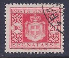 Italy, Scott # J64 Used Postage Due, 1945 - 5. 1944-46 Lieutenance & Umberto II