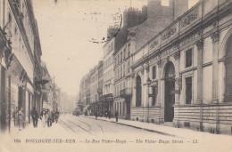 CPA   PAS  DE  CALAIS  :  BOULOGNE  SUR  MER    Rue   Victor  HUGO   1921 - Boulogne Sur Mer