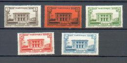MART 411 - YT 191 à 195 *  - CC - Martinique (1886-1947)