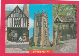 Multi View Postcard Of Evesham, Worcestershire, England, B14. - Worcestershire