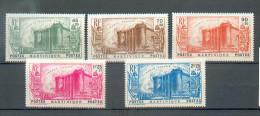 MART 423 - YT 170 * Infime Rousseur Verso/172*-173*/ 174*/ 175 * Deux Rousseurs Au Verso - CC - Martinique (1886-1947)