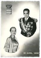 Cpsm:  MONACO  Mariage Princier Du 19 Avril 1956 - Monaco