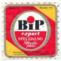 BIP EXPORT SPECIAL LAGER BEER - Old Beer Label Yugoslavia - Beer