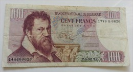 BELGIO 100 FRANCHI 28-02-1972 VF - [ 2] 1831-... : Regno Del Belgio