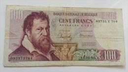 BELGIO 100 FRANCHI 10-06-1966 VF - [ 2] 1831-... : Regno Del Belgio