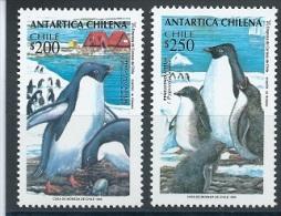 Chile 1993 Pinguine MI.-Nr.1586 - 1587 ** Mnh - Chile