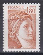 2061 Sabine 1f80 Ocre Orangé - 1977-81 Sabina Di Gandon