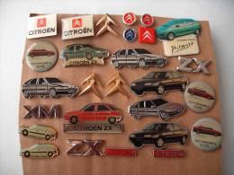CITROEN Konvolut Sammlung 27 Anstecker Pins - Citroën