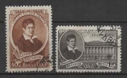 (O) Russia - USSR (1948) Yv. 1269/70 - Oblitérés