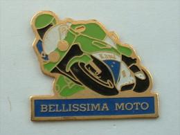Pin´s BELLISSIMA MOTO KAWAZAKI - Motorbikes