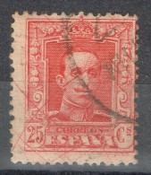 Sello 25 Cts Añfonso XIII Vaquer, VARIEDAD Lineas De Color, Num 317A º - 1889-1931 Reino: Alfonso XIII