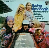 * LP *  ROB HOEKE BOOGIE WOOGIE QUARTET - RACING THE BOOGIE (Holland 1970 EX!!!) - Rock