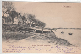 44 - NANTES / BERGE DU QUAI MAGELLAN - Nantes