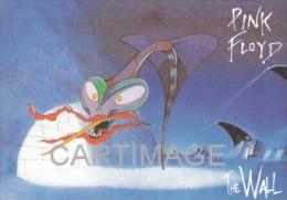 PINK FLOYD Carte Postale N° U660   THE WALL  Roger WATERS   David GILMOUR   Syd BARRETT  Richard WRIGHT - Musique Et Musiciens