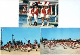 06 - Saint Laurent Du Var - Le St. Laurent´s Majorettes Parade - 3 Cartes - Saint-Laurent-du-Var
