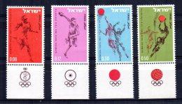 Israel - 1964 - Olympic Games - MNH - Neufs (avec Tabs)