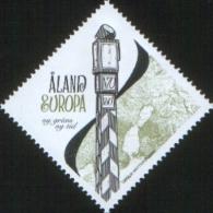 Aland 2009 New Border 1v Complete Set ** MNH - Aland