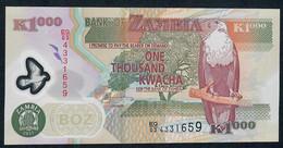 ZAMBIA  P44h   1000  KWACHA   2011     UNC. - Zambia