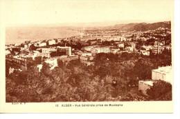 CPA - ALGER - VUE GENERALE PRISE DE MUSTAPHA - 10 -  A. F. - Algiers