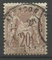 France - Type Sage - N° 67 - Obl. Cachet à Date ALENCON - 1876-1878 Sage (Type I)