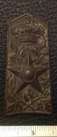 ITALIA REGNO / FASCISMO - Fregio Originale Metallico Regio Esercito SUSSISTENZA - Italie