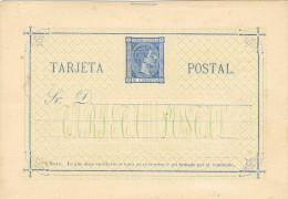 0053. Entero Postal Alfonso XII 1875, Num 8 ** - Enteros Postales