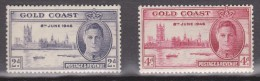 Gold Coast, 1946, SG 133 - 134, MNH - Gold Coast (...-1957)