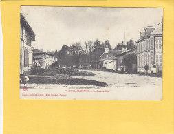 CPA -  PUELLEMONTIER - La Grande Rue - Legaux; Coiffeur éditeur - France