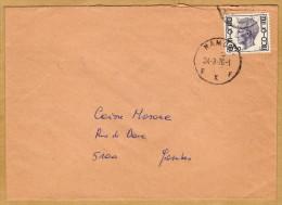Enveloppe Cover Brief Elström Namur à Jambes - Unclassified