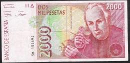 SPAIN ESPAGNE  P164   2000   PESETAS   1992     VF - [ 4] 1975-…: Juan Carlos I.