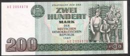 GERMANY GRD DDR  P32   200   MARK    1985     UNC. - [ 6] 1949-1990 : GDR - German Dem. Rep.