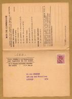 Préoblitéré CED à Louvain - Typografisch 1951-80 (Cijfer Op Leeuw)