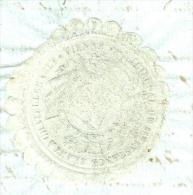 Vignette Mobile Frappée à Sec Type Manteau Impérial  ( Lire Detail) Tribual De Chatellerault En 1806  Lo35305 - Commemorative Labels