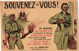 Politiek Satire 7CP Peints Par Eux-mêmes Vieux Singe Savant Fédérat Des Embusqués Lusitania  Souvenez-vous Ls Boches - Satirical