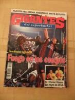 GIGANTES DEL SUPERBASKET, 496, 08-05-1995. BARCELONA - REAL MADRID. MICHAEL JORDAN. - Revistas & Periódicos