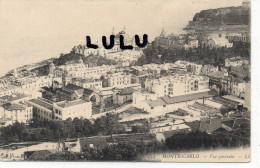 Monaco ; Monte Carlo ;   Vue Générale - Monte-Carlo