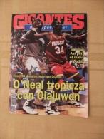 GIGANTES DEL SUPERBASKET, 502, 19-06-1995. O´NEAL - OLAJUWON, HOUSTON - OLANDO. - Revistas & Periódicos