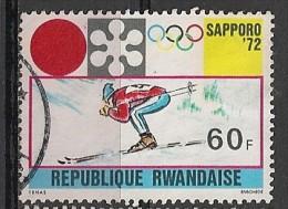 RWANDA 450 Used Gest Obl - Rwanda