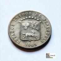 Venezuela - 12 1/2 Céntimos - 1945 - Venezuela